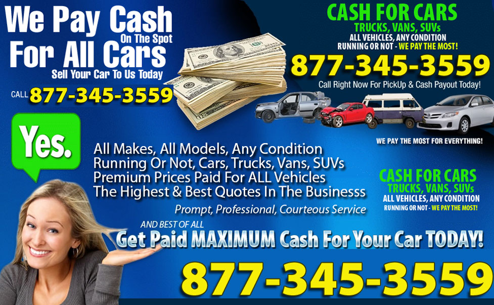 Cash For Junk Cars Same Day Pick Up >> Cash For Junk Cars Clio MI 48420